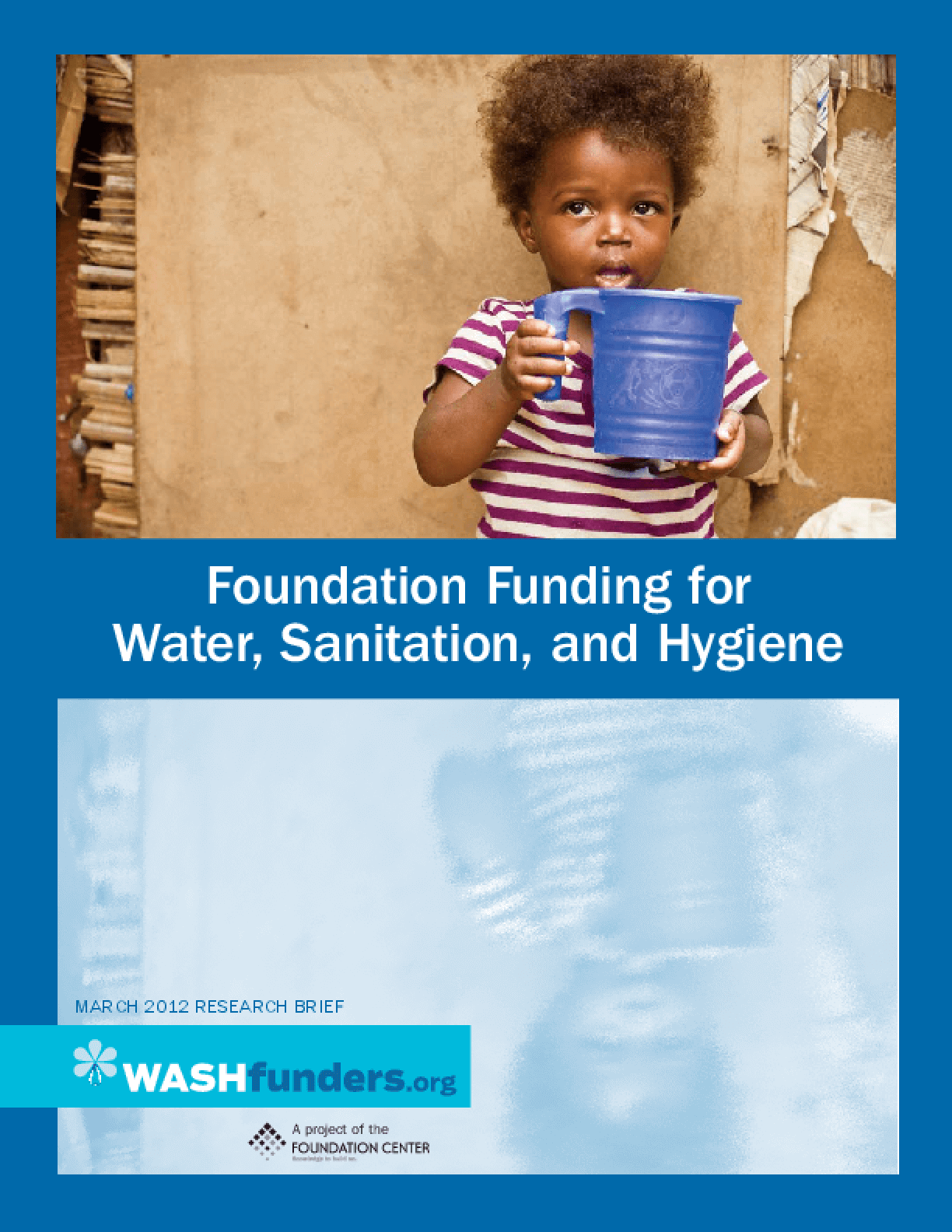 Foundation Funding for Water, Sanitation, and Hygiene