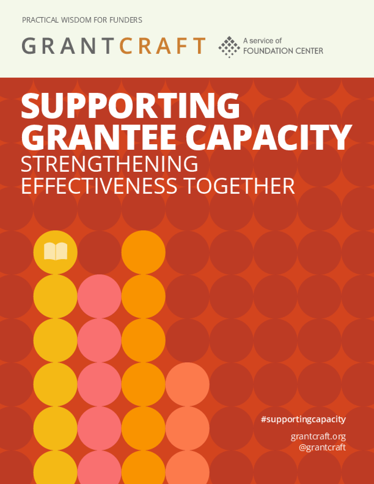 Supporting Grantee Capacity: Strengthening Effectiveness Together