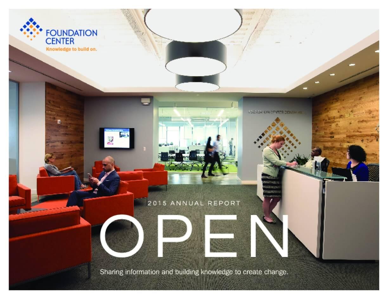 Foundation Center 2015 Annual Report