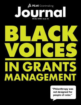 Peak Grantmaking: Black Voices in Grants Management