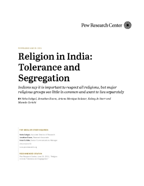 Religion in India: Tolerance and Segregation