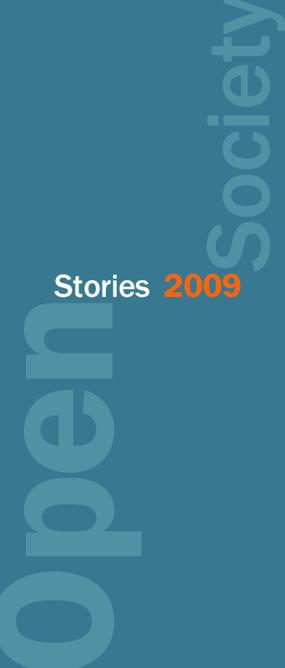 Open Society Stories 2009